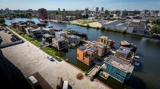 La comunità galleggiante più sostenibile d'Europa