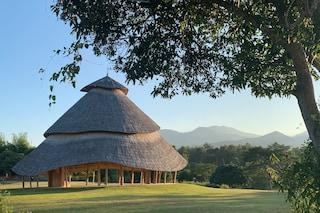 La cattedrale fatta tutta di bambù