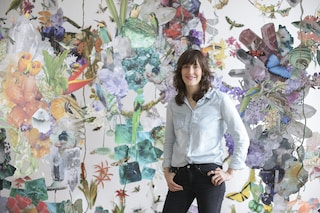 L'artista che trasforma le case in ecosistemi tropicali straordinari