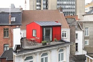 Il mini attico da 11 mq sul tetto è una stanza degli ospiti unica al mondo