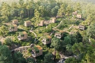 16 cabine di design per vivere tra gli alberi nella foresta norvegese