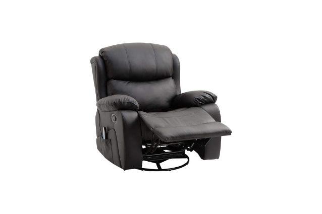 poltrona massaggiante relax homcom