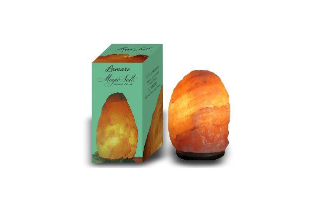 lampada di sale dell'himalaya 1-2 kg piccola