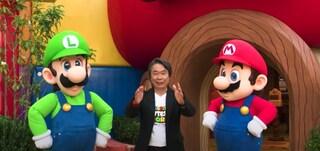 Shigeru Miyamoto, l'ideatore di Super Mario, presenta il Super Nintendo World