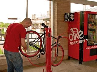 La bicicletta si compra al distributore automatico