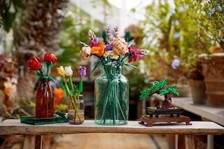 I fiori fatti di LEGO