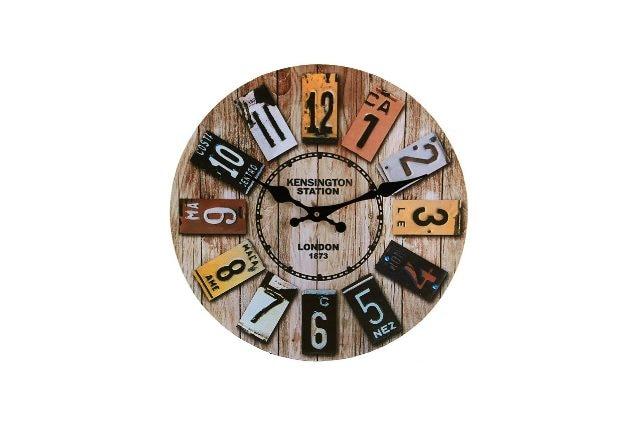 orologio da parete vintage in stile retro'