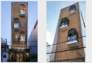 La casa progettata come un nido di uccelli