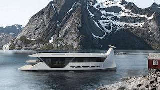 La yacht che sembra una nave vichinga