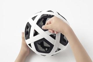 Il pallone da calcio che non si buca mai e lo assembli da solo