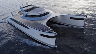 Il catamarano anfibio ad energia solare è il futuro sostenibile delle imbarcazioni