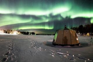 L'hotel di igloo con vista privilegiata sull'Aurora Boreale