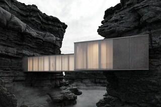 La casa incastonata nella roccia