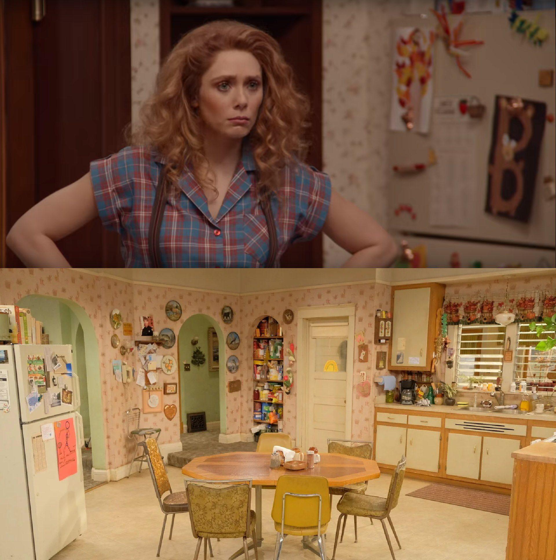 WandaVision e Roseanne
