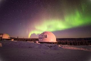 Il modo più speciale per vivere l'Aurora Boreale in Alaska