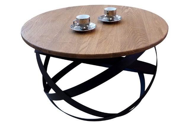 tavolino da salotto rotondo