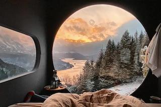 Queste capanne sugli alberi hanno viste epiche sui fiordi norvegesi