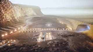 La prima città autosufficiente e sostenibile su Marte ospiterà 1 milione di persone