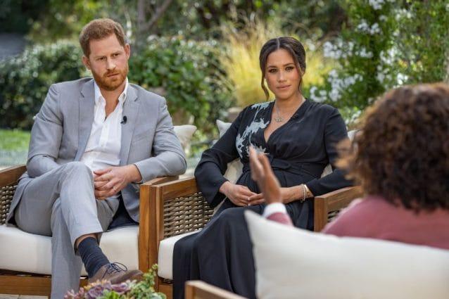 Il principe Harry e Meghan Markle intervistati da Oprah Winfrey