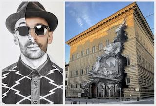 Palazzo Strozzi a Firenze cambia volto con la street art di JR