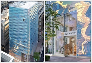 Il nuovo store di Louis Vuitton a Tokyo sembra una cascata d'acqua