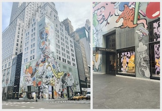 Il negozio Louis Vuitton di New York si rifà il look con la street art
