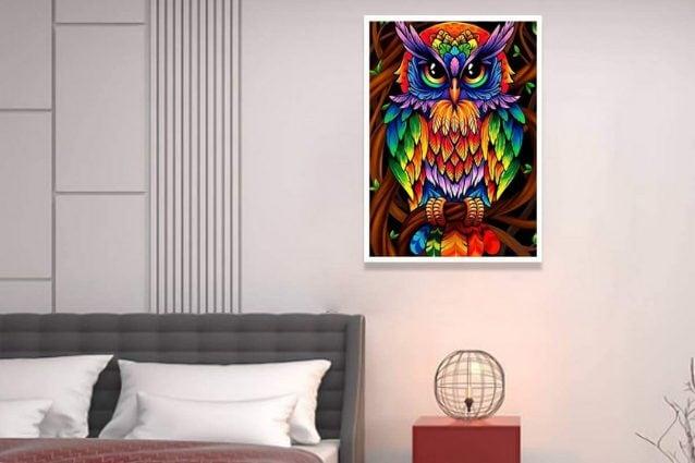 pittura a mosaico