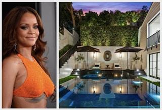 Com'è fatta la nuova villa di Rihanna a Beverly Hills