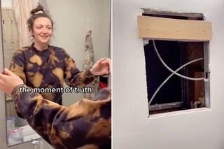 C'è un appartamento segreto dietro lo specchio di questa casa
