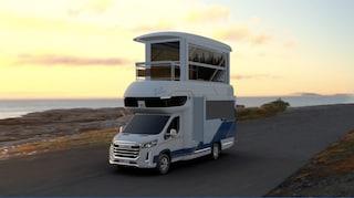Il camper a due piani è il futuro dei viaggi on the road