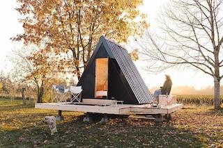 La capanna mobile, modulare e sostenibile per accompagnarti ovunque