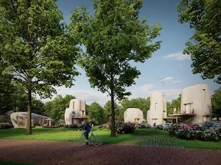 Il primo villaggio di case stampate in 3D cerca inquilini