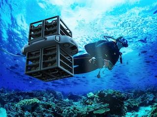 Il drone subacqueo che protegge e ripristina le barriere coralline