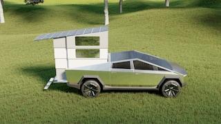 Quest'auto ad energia solare si trasforma nel camper dei tuoi sogni