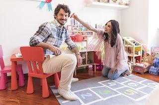 Francesca Rocco e Giovanni Masiero genitori bis: la stanza della figlia è da principessa