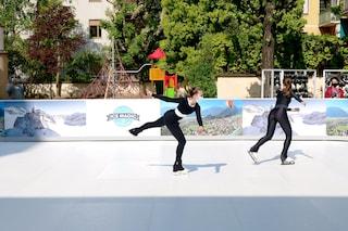 A Milano c'è una pista di pattinaggio sul ghiaccio all'aperto ad aprile: ecco dove