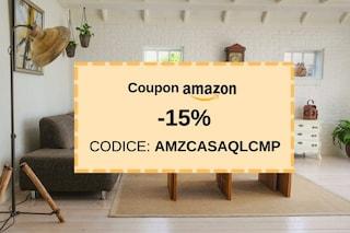 """Casa, Cucina e Ufficio: coupon Amazon del 15% in esclusiva per gli utenti """"Quale Compro"""""""