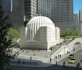 Santiago Calatrava progetta la Chiesa ortodossa del World Trade Center di New York