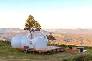 Vivere in bolle panoramiche nell'Australia più selvaggia per fare glamping sotto le stelle