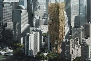 Il grattacielo vivente fatto di alberi geneticamente modificati