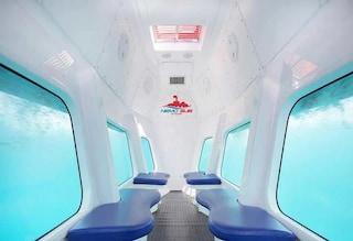 Com'è fatto il sommergibile che permetterà di visitare il Parco Sommerso di Baia