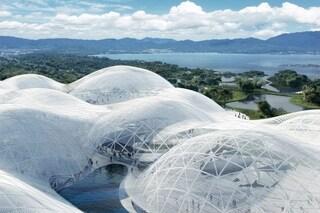 Il Museo marittimo di Shenzhen è simile a una nuvola che fluttua sul mare