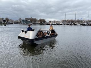 Sui canali di Amsterdam arrivano le prime barche a guida autonoma