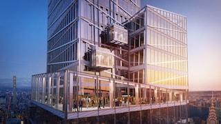 Il nuovo ascensore panoramico di New York è vertiginoso e offre la vista migliore della città