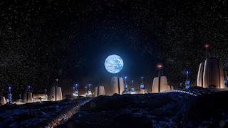 Queste sono le prime case per vivere sulla Luna