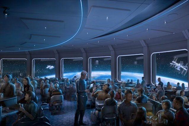 Aprirà a settembre il nuovo ristorante Disney a Epcot per un'esperienza culinaria in orbita