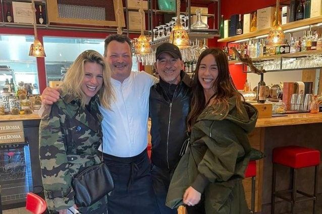 Quanto costa il ristorante dove Michelle Hunziker e Eros Ramazzotti hanno pranzato con Aurora Ramazzotti