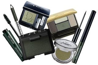 Il make up per l'inverno è verde kaki (FOTO)