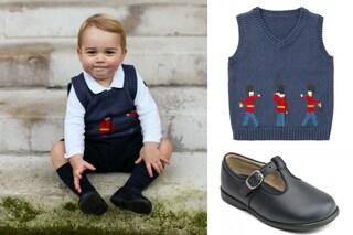 """Il piccolo George come mamma Kate, vestito """"solo"""" con 112 euro (FOTO)"""
