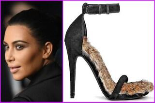 L'ultima follia di Kim Kardashian? Le scarpe con il pelo di coniglio (FOTO)